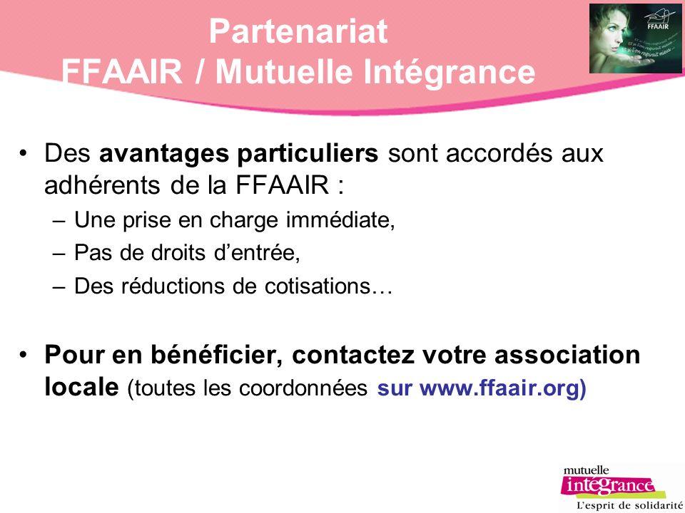 Partenariat FFAAIR / Mutuelle Intégrance