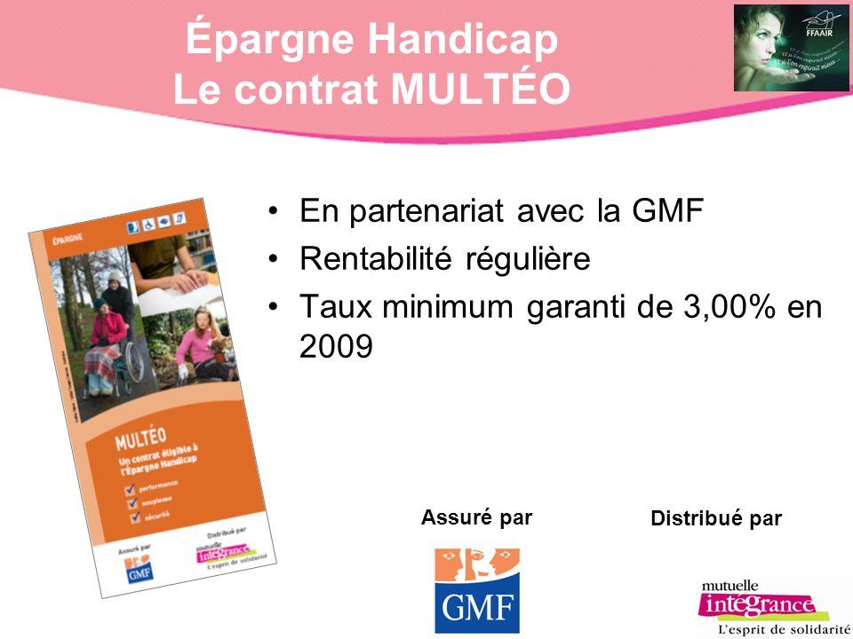 Épargne Handicap Le contrat MULTÉO