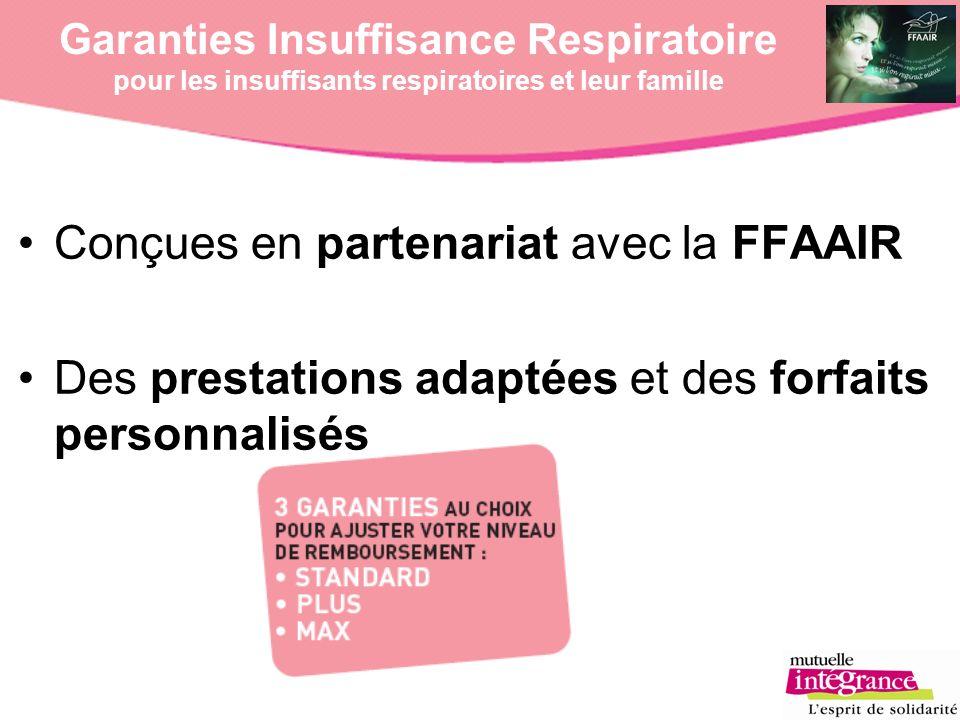 Conçues en partenariat avec la FFAAIR