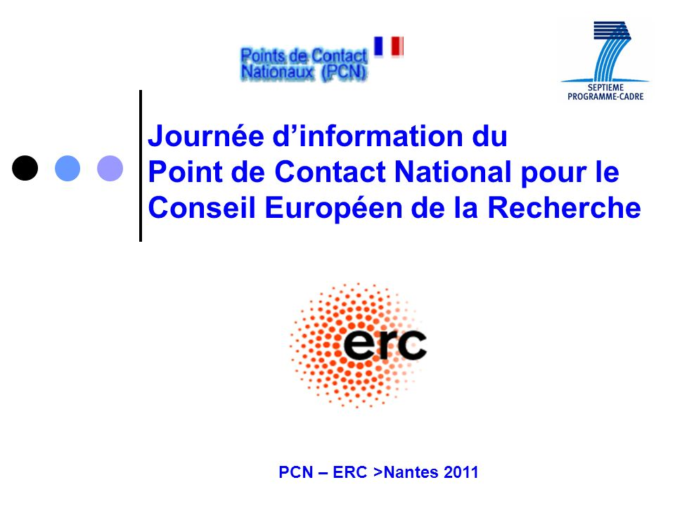 Journée d'information du Point de Contact National pour le