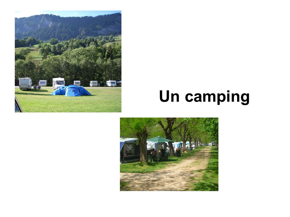 Un camping