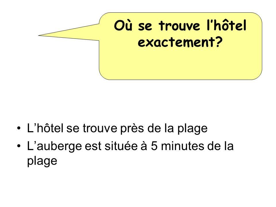 Où se trouve l'hôtel exactement