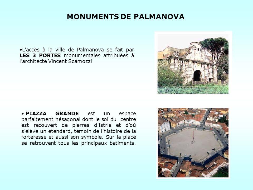 MONUMENTS DE PALMANOVA