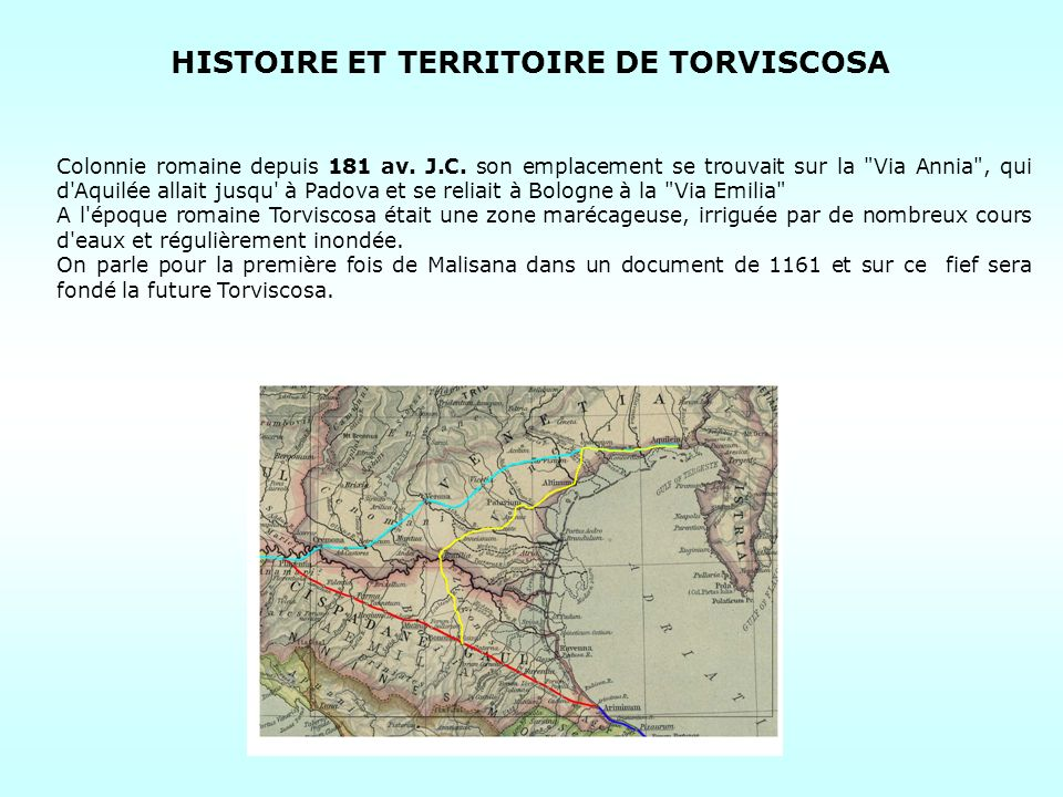 HISTOIRE ET TERRITOIRE DE TORVISCOSA