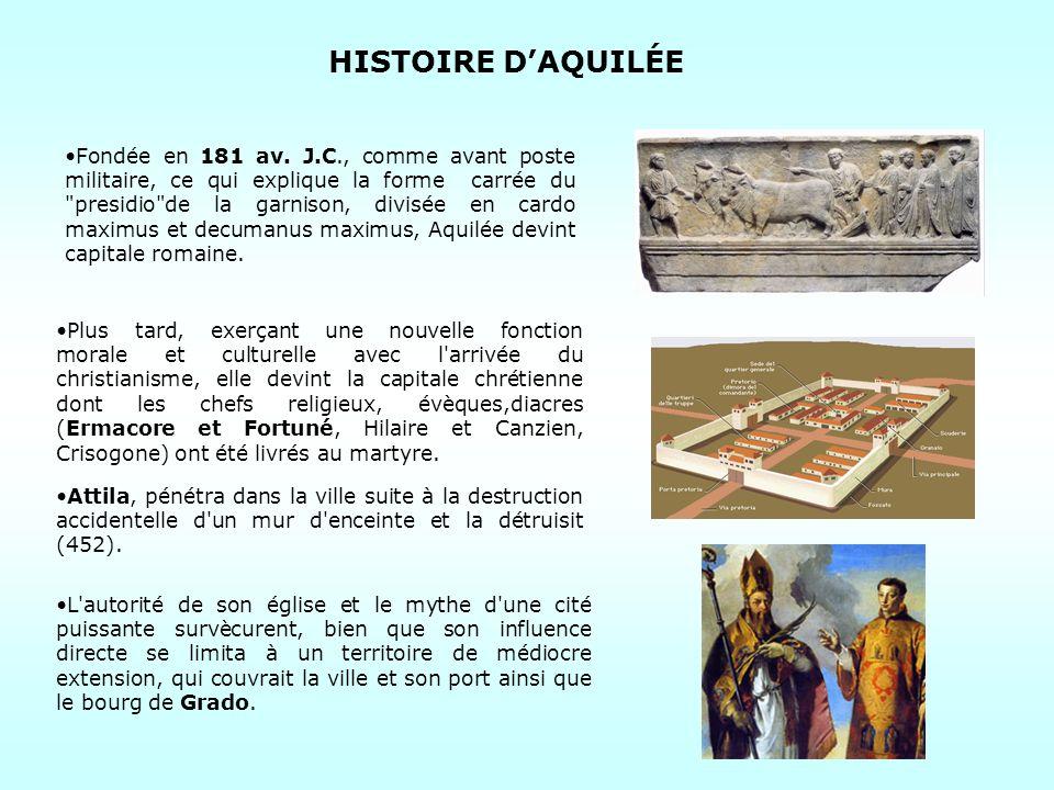 HISTOIRE D'AQUILÉE