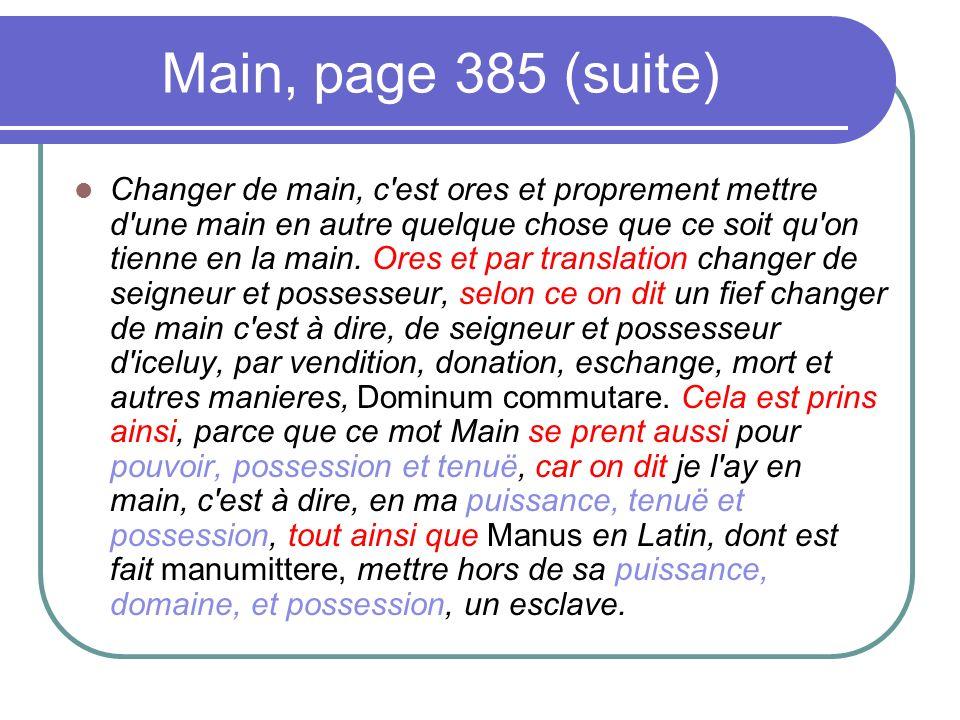Main, page 385 (suite)