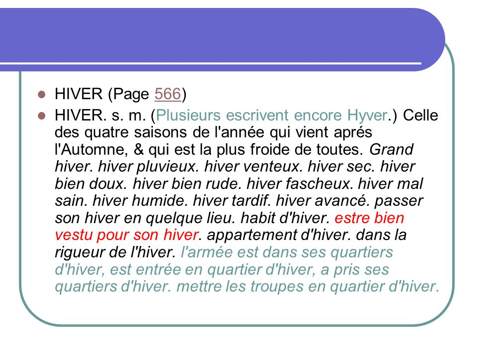 HIVER (Page 566)