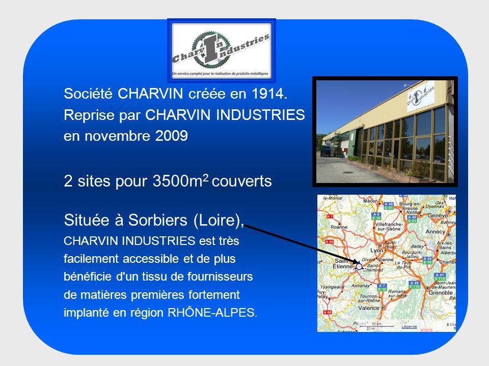 Située à Sorbiers (Loire),