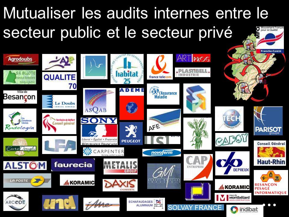 Mutualiser les audits internes entre le secteur public et le secteur privé