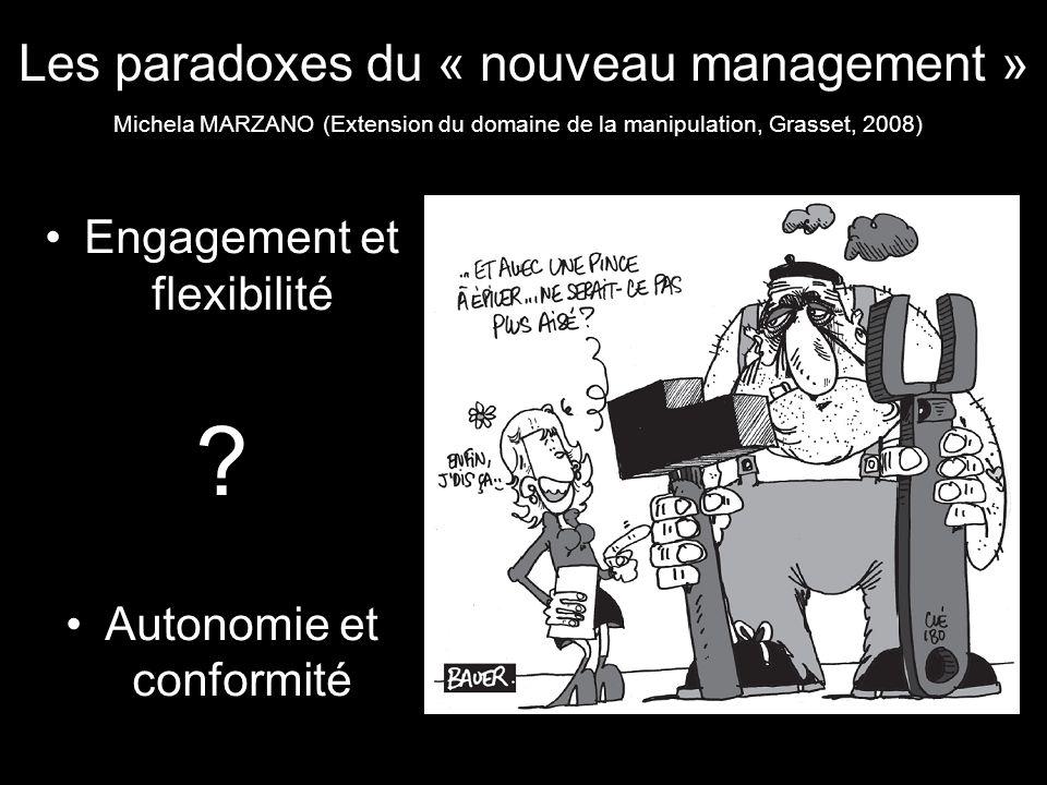 Les paradoxes du « nouveau management »