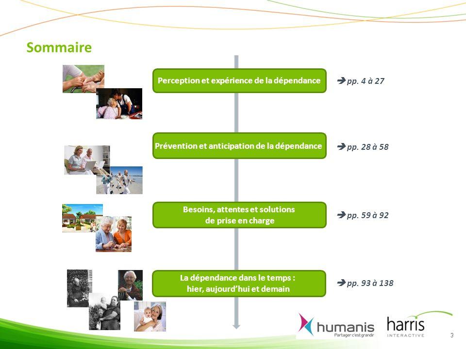 Sommaire Perception et expérience de la dépendance  pp. 4 à 27