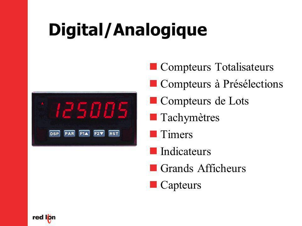 Digital/Analogique Compteurs Totalisateurs Compteurs à Présélections