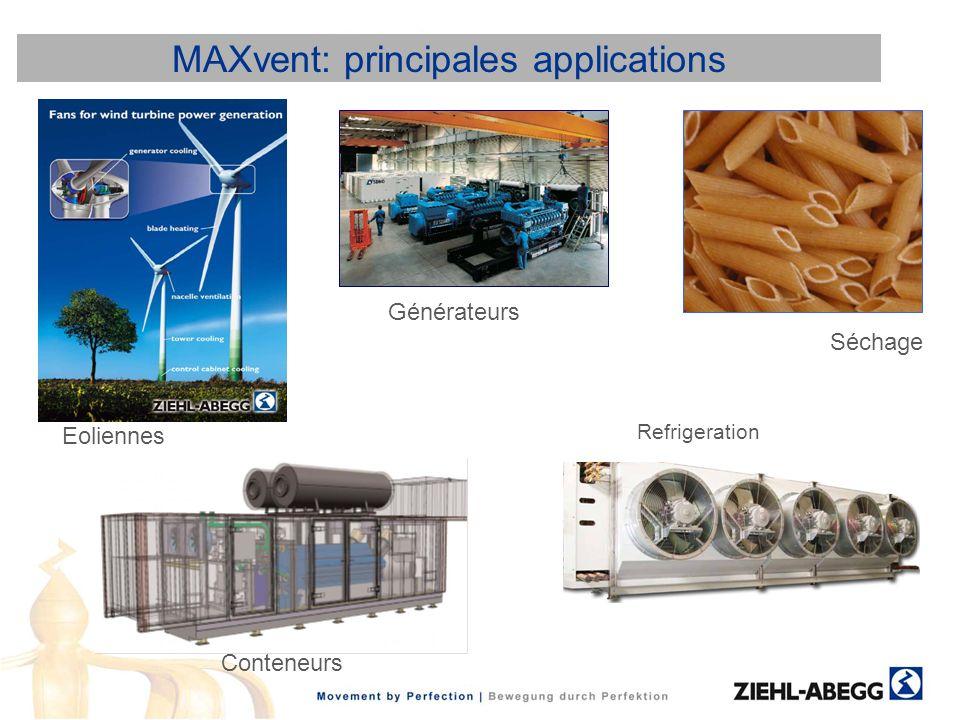 MAXvent: principales applications