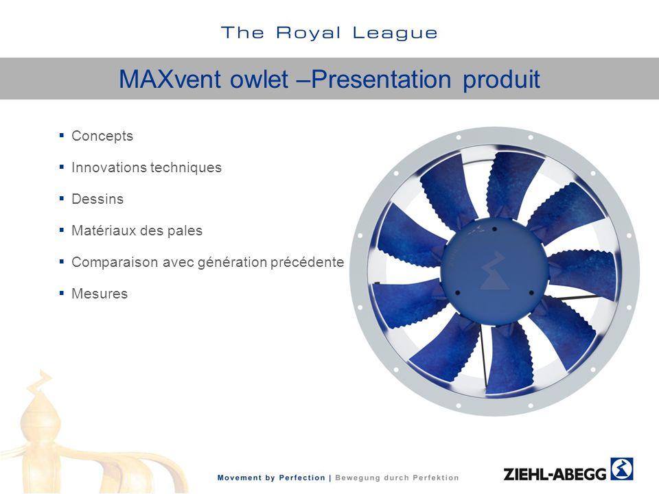 MAXvent owlet –Presentation produit
