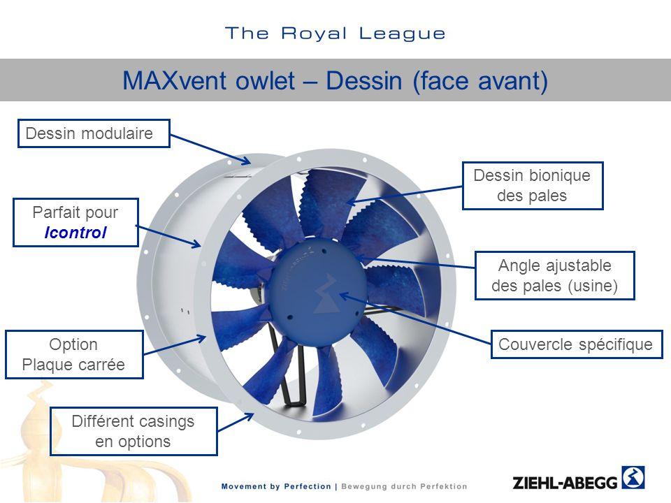 MAXvent owlet – Dessin (face avant)
