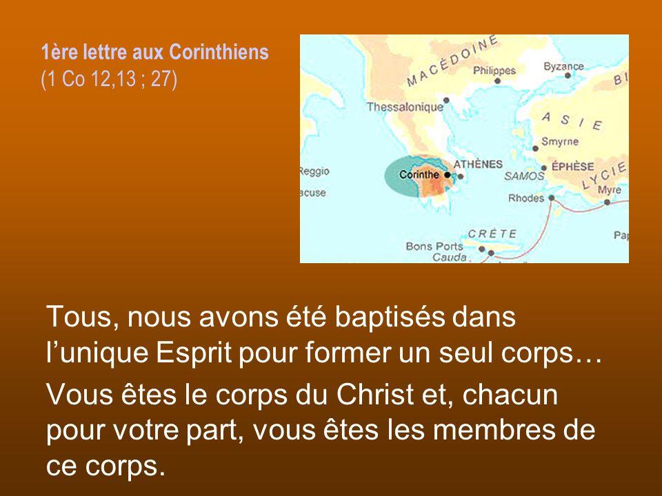 1ère lettre aux Corinthiens