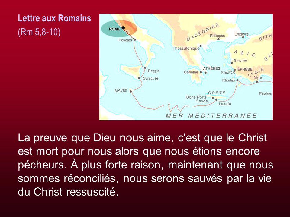 Lettre aux Romains (Rm 5,8-10)