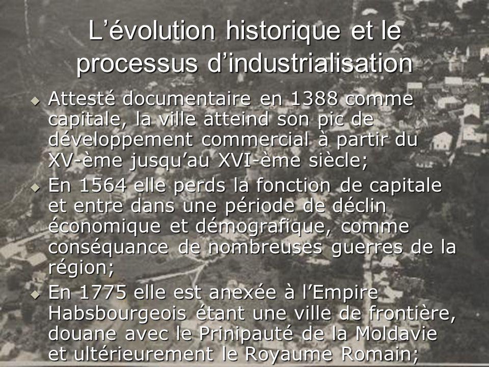 L'évolution historique et le processus d'industrialisation