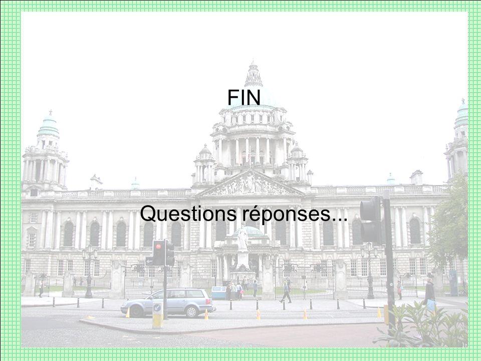 FIN Questions réponses...