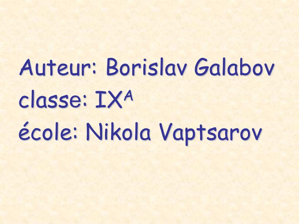 Auteur: Borislav Galabov