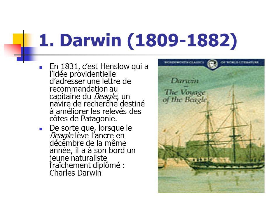 1. Darwin (1809-1882)