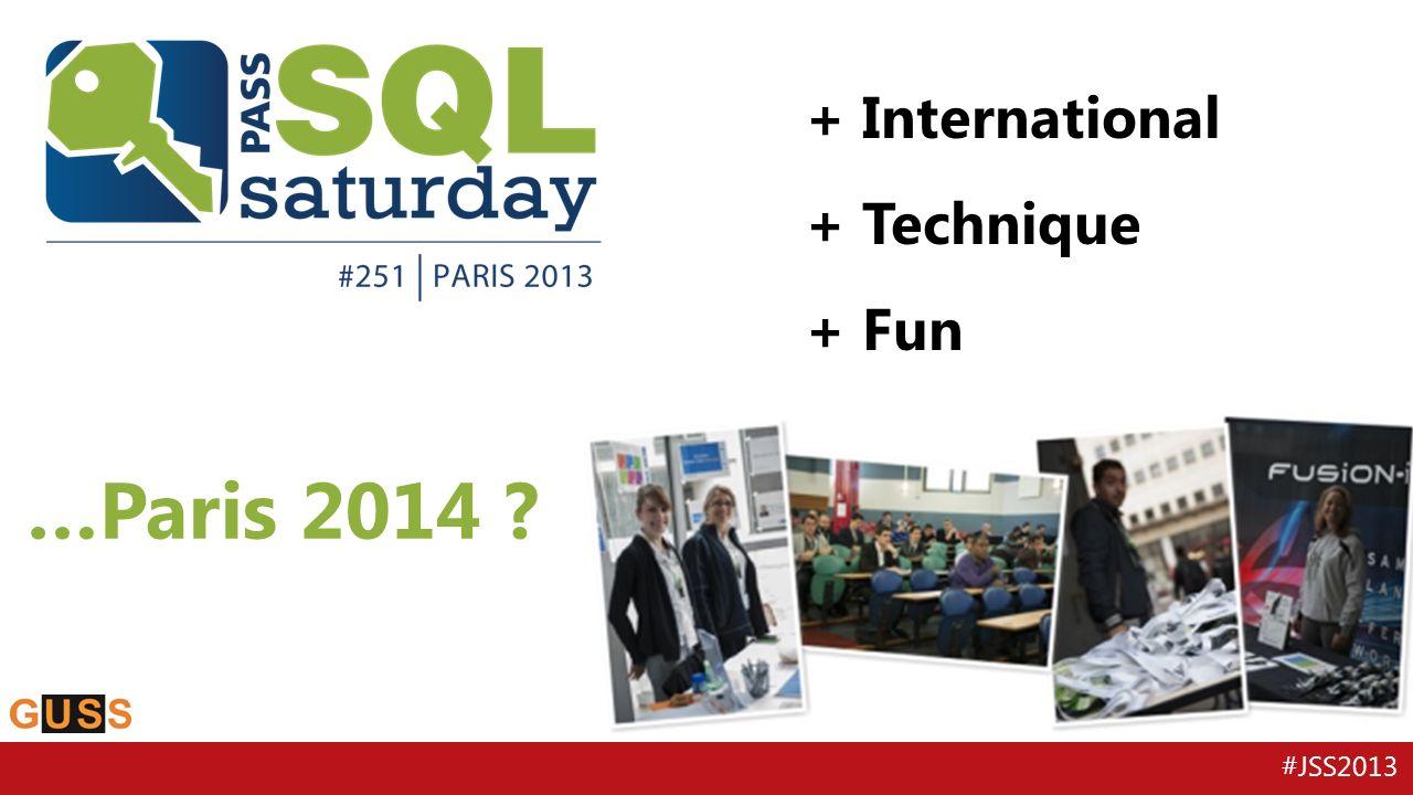 …Paris 2014 + International + Technique + Fun