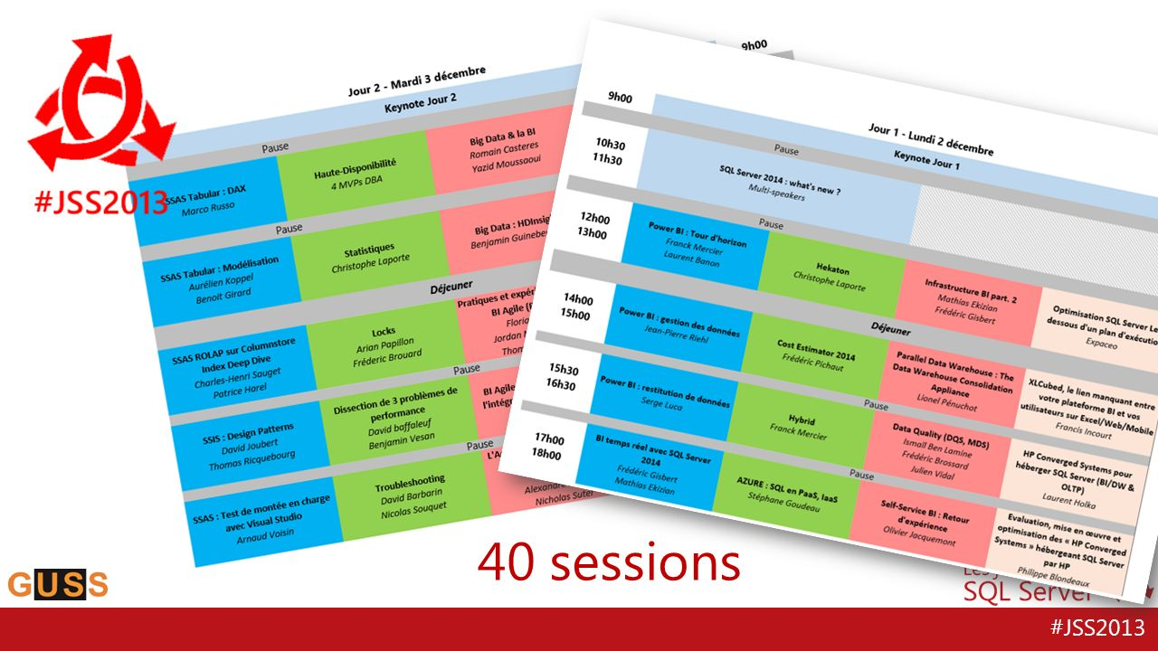 40 sessions 50 speakers qui mouillent le maillot 40 sessions