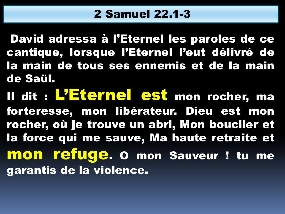 2 Samuel 22.1-3