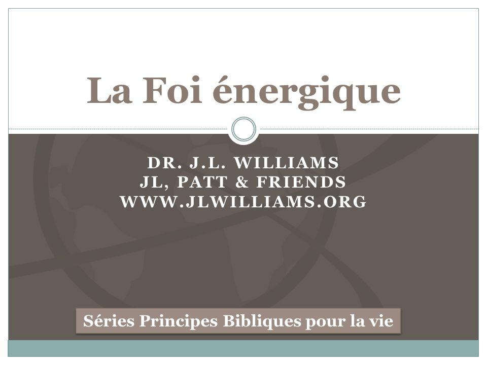 Dr. J.L. Williams JL, Patt & Friends www.JLwilliams.org