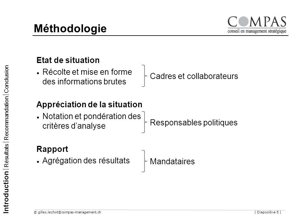 Méthodologie Etat de situation