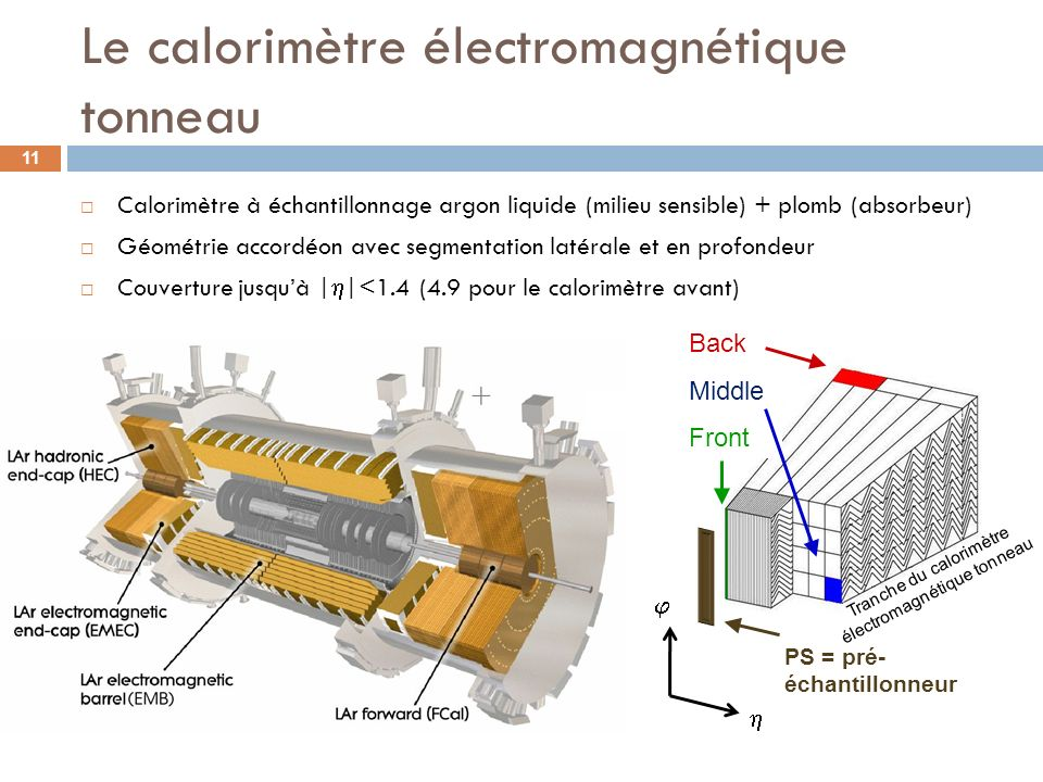 Le calorimètre électromagnétique tonneau