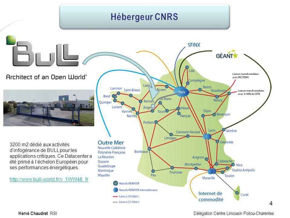 Hébergeur Hébergeur CNRS