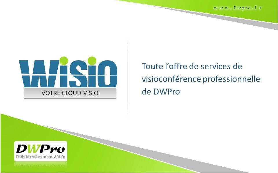 Toute l'offre de services de visioconférence professionnelle de DWPro