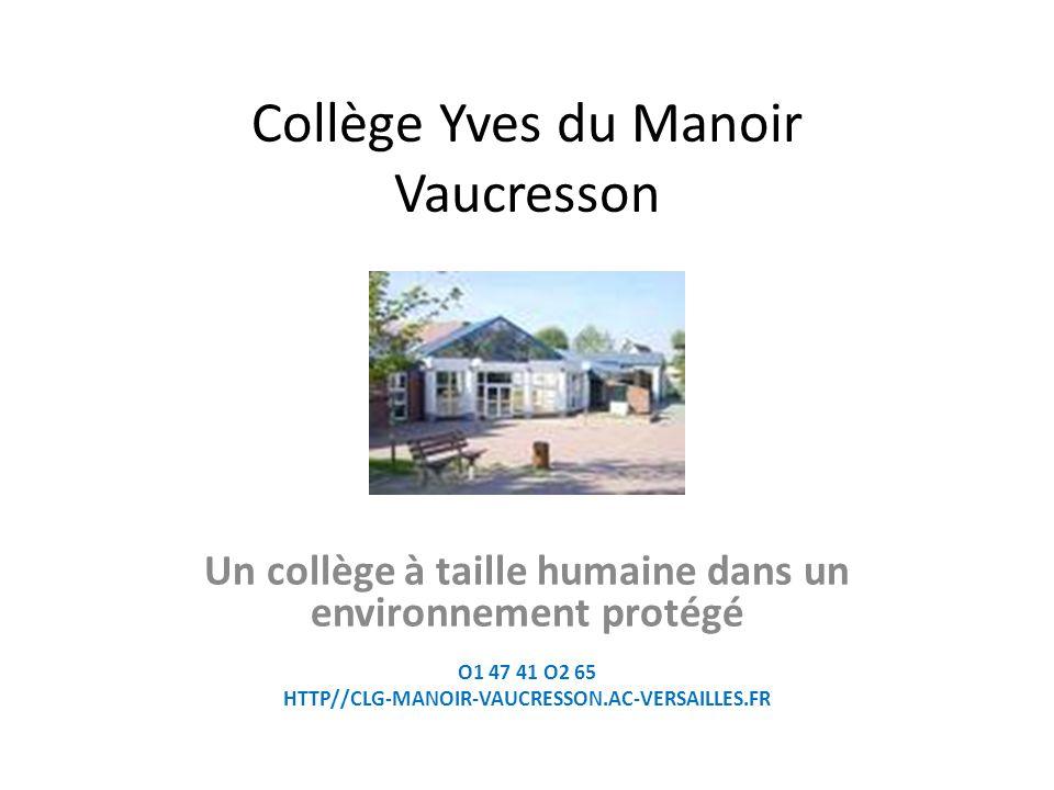 Collège Yves du Manoir Vaucresson
