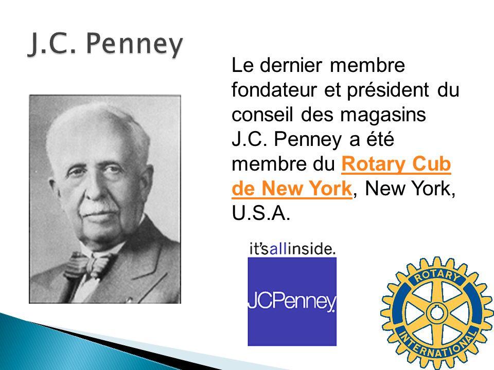 J.C. Penney Le dernier membre fondateur et président du conseil des magasins J.C.