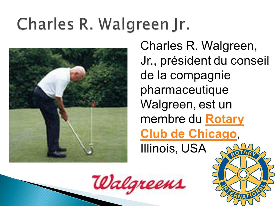 Charles R. Walgreen Jr.