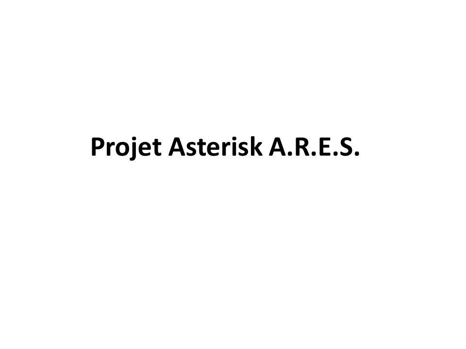 Projet Asterisk A.R.E.S.
