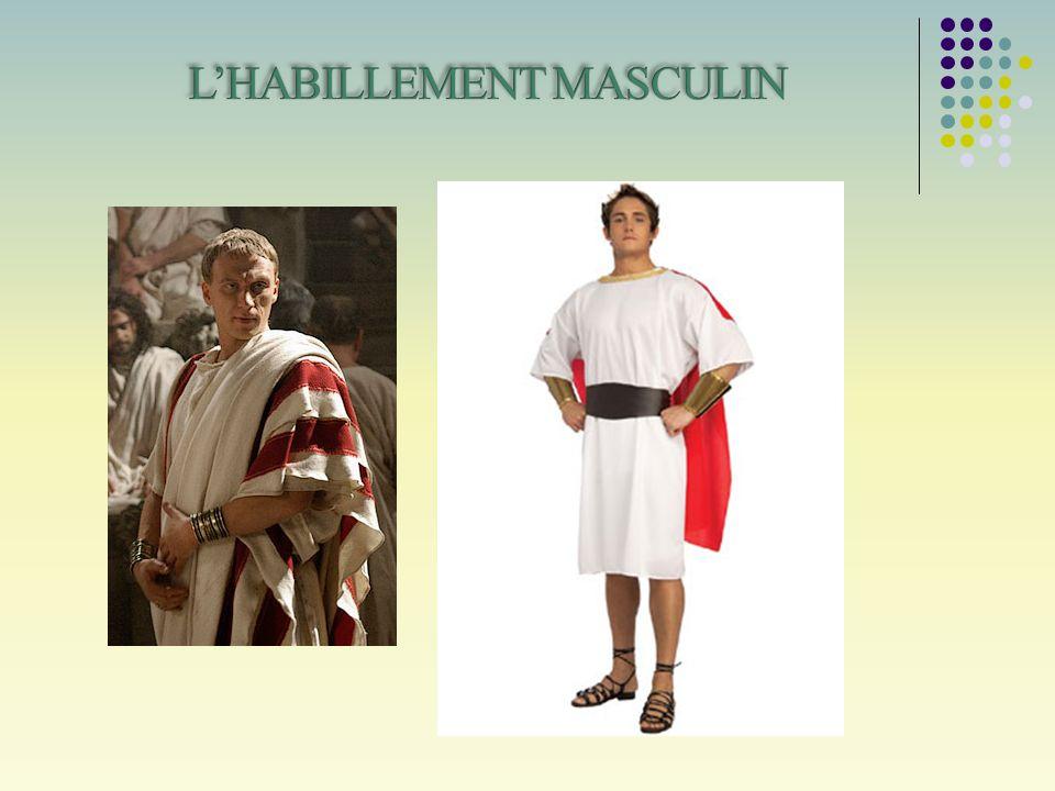 L'HABILLEMENT MASCULIN