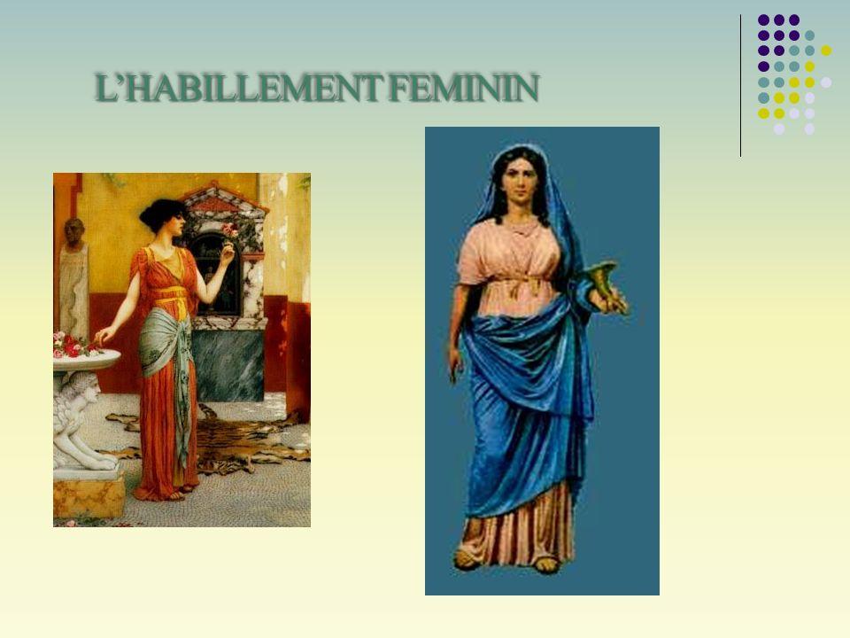 L'HABILLEMENT FEMININ