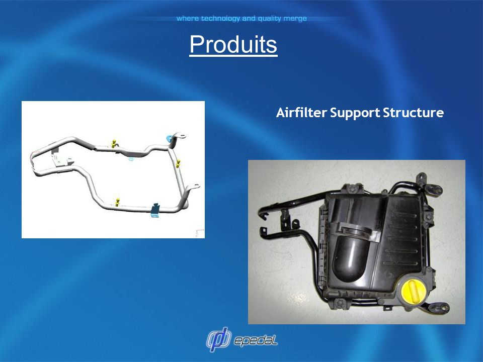Airfilter Support Structure