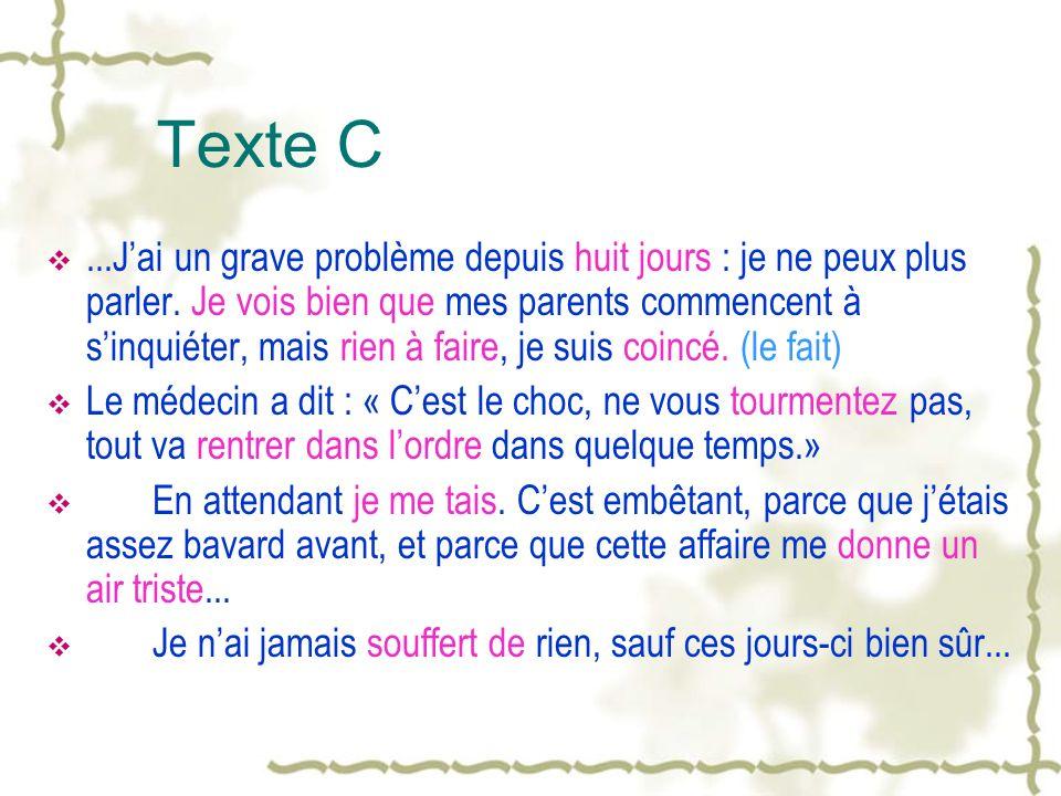 Texte C