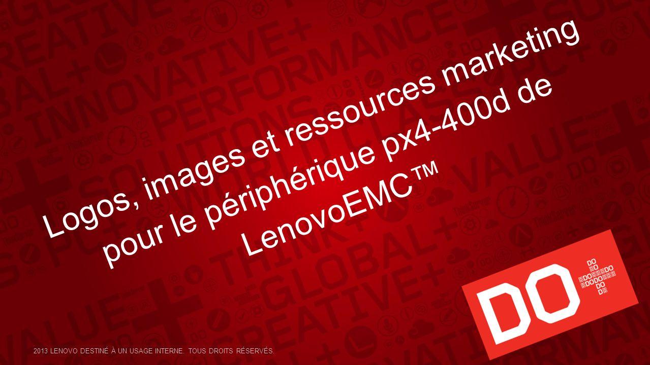 Logos, images et ressources marketing pour le périphérique px4-400d de LenovoEMC™