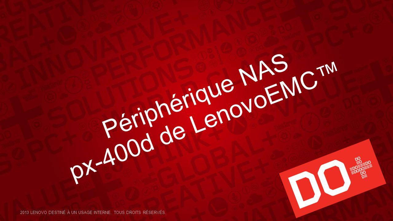 Périphérique NAS px-400d de LenovoEMC™