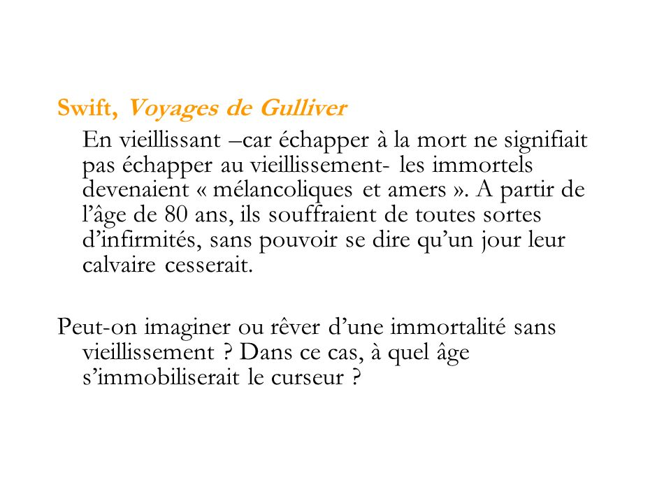 Swift, Voyages de Gulliver