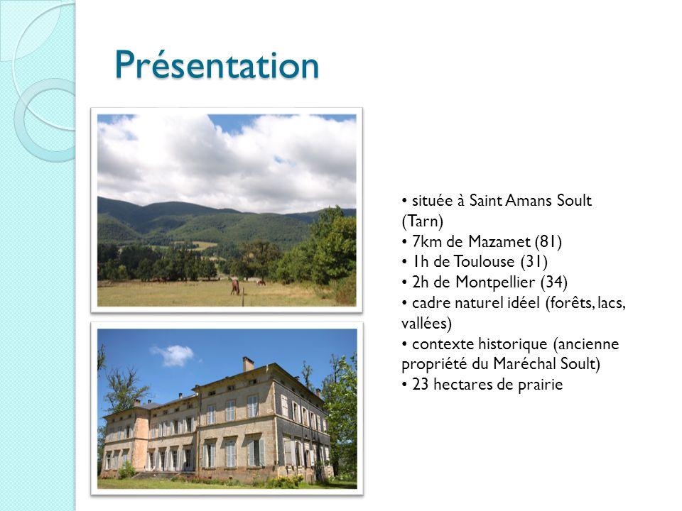 Présentation située à Saint Amans Soult (Tarn) 7km de Mazamet (81)