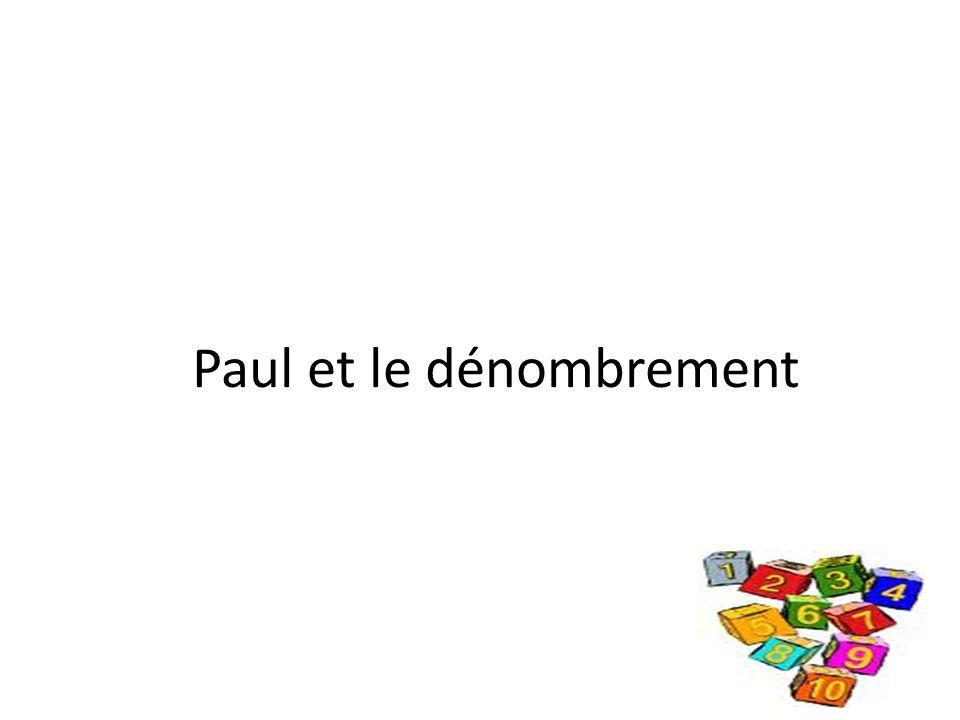 Paul et le dénombrement
