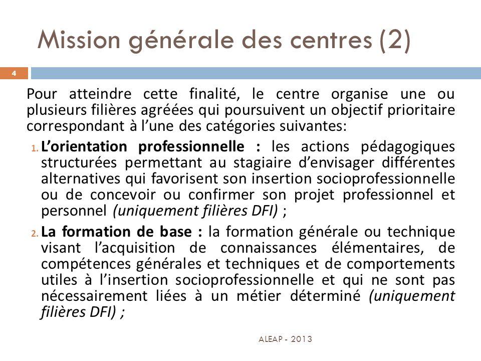 Mission générale des centres (2)