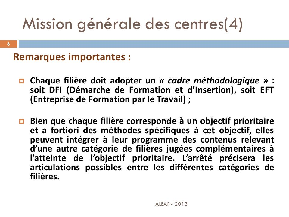 Mission générale des centres(4)