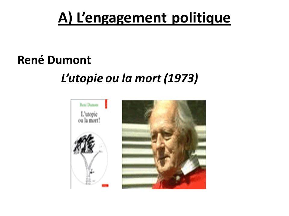 A) L'engagement politique