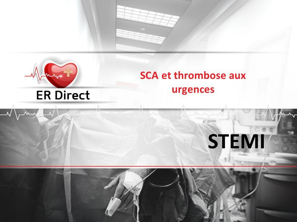 SCA et thrombose aux urgences